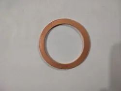 Cf 100 Copper Gasket, For Industrial, Thickness: 2.5 Mm And 2 Mm In OFHC