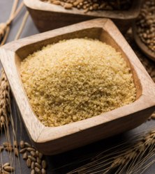 Brown Wheat Dalia, High in Protein