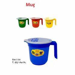 Model Name/Number: VP-24 PPCP Mug, For Home, Capacity: 1 Litre