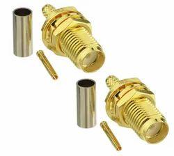 SMA Female Bulkhead Connector for RG316, RG174 Coax Cable