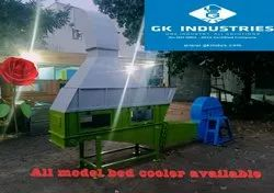 Mild Steel Bed cooler, For rice mill