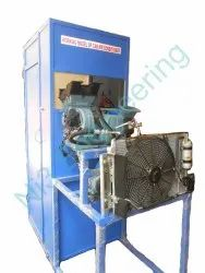 Car Air Conditioning System Working Model without Cabin