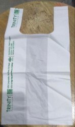 Plain Handled Corn Starch Carry Bags, Capacity: 1kg, Size: 13*16
