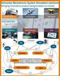 Simcenter Amesim 1d 3D : Integrated  Multi Physics/Domain Mechatronic Systems Simulation Software