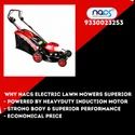 NACS Electric Lawn Mower With Induction Motor