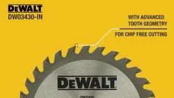 Dewalt Stainless Steel DW3430-in, For Industrial, Size/Dimension: 4'' 30 Teeth