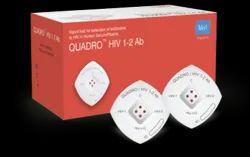 Plastic 1-2 AB Meril Quadro HIV Kit
