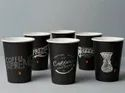 Printed Paper Coffee Glass