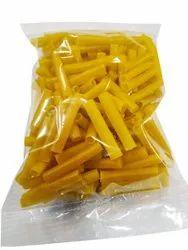 Gauri Fresh Yellow Pipe Fryums, Packaging Size: 1 Kg