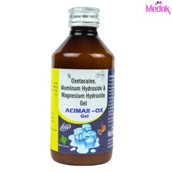 Oxetacaine Aluminum Hydroxide and Magnesium Hydroxide Gel