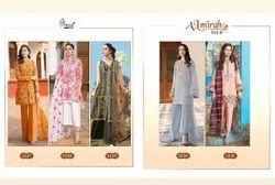Lawn Shree Almirah 8 Embroidered Pakistani Salwar Suits