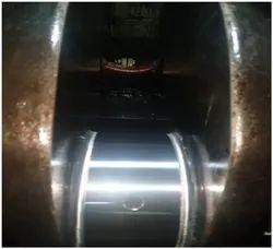 Crankshaft Machining And Polishing And Insitu Cutting Of Crankpin