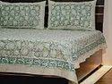 Jaipuri Sanganeri Printed Double Bedsheet