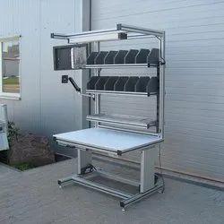 1500x750x2000 Mm Aluminum Profile Work Table