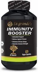 La Grande's Immunity Booster - Improves Healthy Immune Strenght - 60 Pure Veg Capsules
