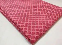 Exclusive Printed Hand Blocks Cotton Suit, Block Print, Red