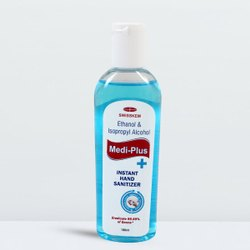 Medi Plus Instant Hand Sanitizer, 100 ML & 50 Gm