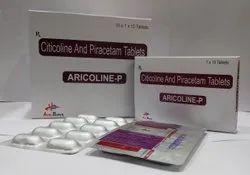 Citicoline 500mg & Piracetam800mg  Tablets