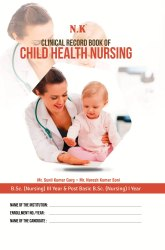 Neelkanth Publishers English Clinical Record Book Of Child Health Nursing, 2021