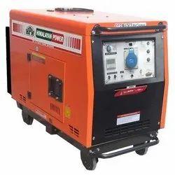 5 kVA HPM Portable Diesel Generator, 3 Phase