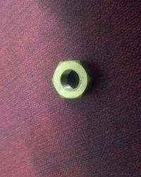 Hexagonal Brass Round Nut
