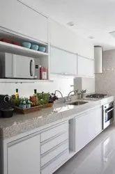Marble Modular Kitchen