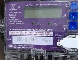 Hpl 10-40 Amps 3 Phase MSEDCL Approved Meter 6 Low Pan LPTF Meters