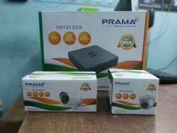 PRAMA Set Of 8 Channel CCTV Camera