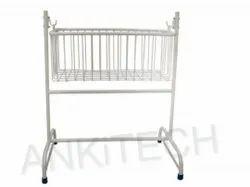 Ankitech White Baby Crib AI-2010