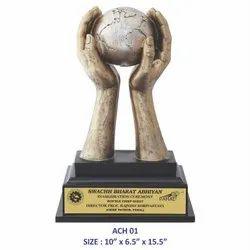 Achievers Globe Trophy