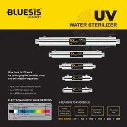 Silver RO UV Housing, Length: 10-15 Inch, Diameter: 2-3 Inch