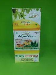 Aloe Vera with Ginjer Lemon Honey Juice