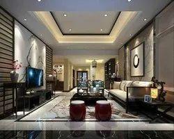 Residential Living Room Interior Design