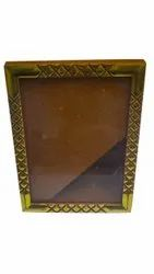 Golden(Frame) Plastic Photo Frame, For Decoration, Size: 8 X 4 Inch (lxw)