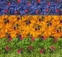 Dull Pure Cotton Fabrics, Floral