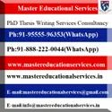 PhD Thesis Writing Services In New Delhi