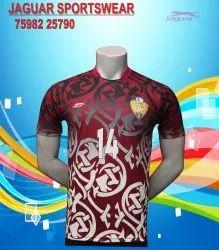 Cotton Polo Neck Chinese Collar Shirt