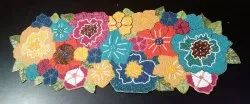 MKS INDIA Multicolor Beaded Table Runner and mat