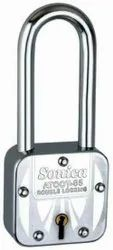With Key Sonica Atoot Long Square Padlock, Padlock Size: 65 mm