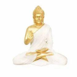 Polyresin Decorative Ashirwad Buddha Statue