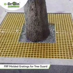 FRP Molded Gratings For Tree Guard