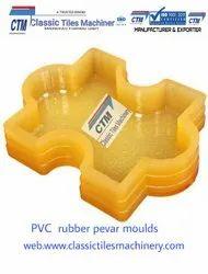 Paver Block PVC Rubber Mould