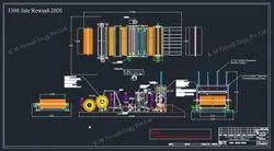 Jute Rewinder Machine