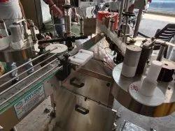 Automatic Flat & Round Bottle Sticker Labelling Machine.