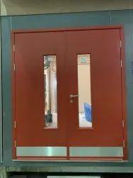 GI Steel Powder Coated Industrial Fire Resistant Door