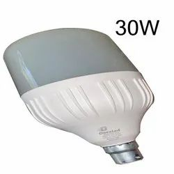 Onexled Aluminum 30W LED Dome Bulb, For Home, Base Type: B22