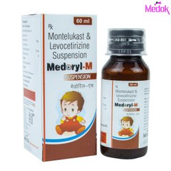 Montelukast and Levocetirizine Suspension