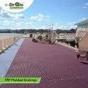 Colored FRP Molded Grating
