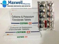 Cefixime And Potassium Clavulunate Tablets