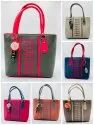 HEAVY QUALITY SNT NATIONAL LADIES HAND BAG WITH SUPERIOR QUALITY COLOURED ATTRACTIVE DESIGNS-SNT-303